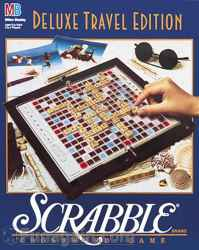 Scrabble Crossword Board Game – Deluxe Travel Edition