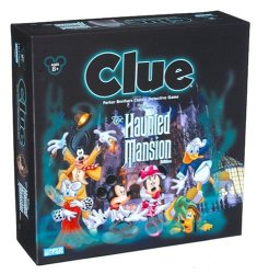Disney Game: Haunted Mansion Clue Board Game