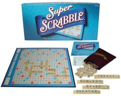 Super Scrabble Board Game