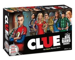 Clue: The Big Bang Theory Edition Board Game
