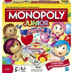 Monopoly Junior Party Edition Board Game