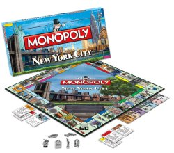 Monopoly New York City Edition Board Game