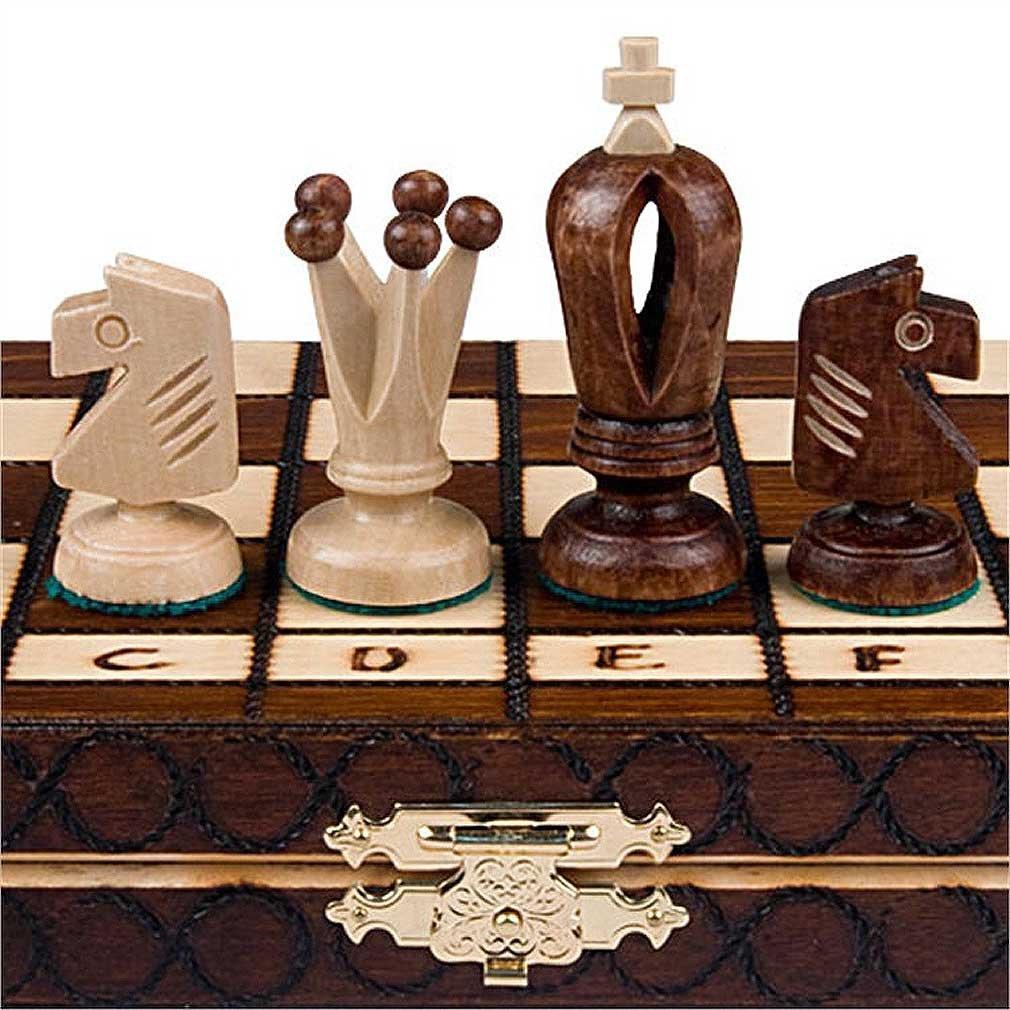 Chess Set Royal 30 European Wooden Handmade