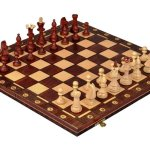 Consul Chess Set and Board - Boardgame