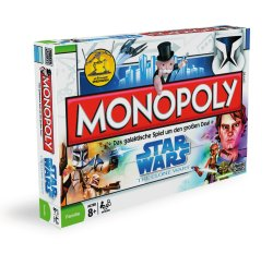 Star Wars The Clone Wars Monopoly Boardgame