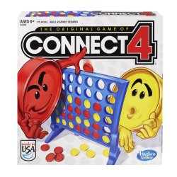 Connect 4 Classic Grid Boardgame