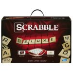 Scrabble Deluxe Edition Board Game