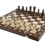 Wegiel Ambassador Wood Chess Set