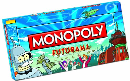 Monopoly Futurama Collector's Edition Boardgame