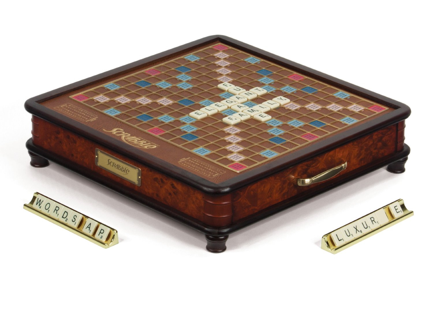 scrabble luxury edition board game board games messiah. Black Bedroom Furniture Sets. Home Design Ideas