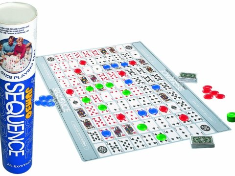 Jax Jumbo Sequence Tube Board Boardgame