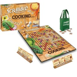 Scrabble Cooking Edition Board Game