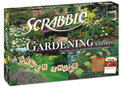 Scrabble Gardening Edition Board Game