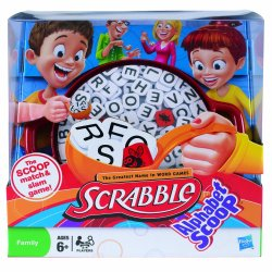 Scrabble Alphabet Scoop Board Game