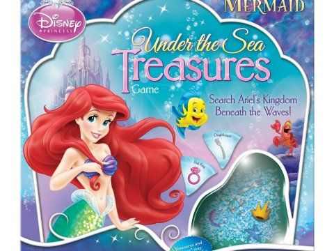 Disney Games: The Little Mermaid Under the Sea Treasures Board Game