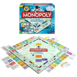 Monopoly The Mega Edition Boardgame