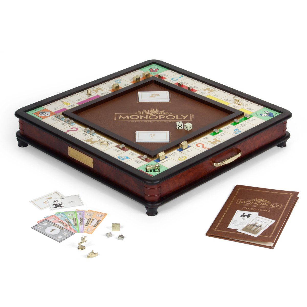 Monopoly Luxury Edition Board Games Messiah