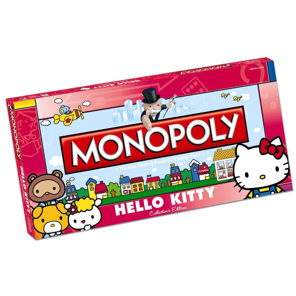 Monopoly: Hello Kitty Edition - Board Games Messiah - photo#30