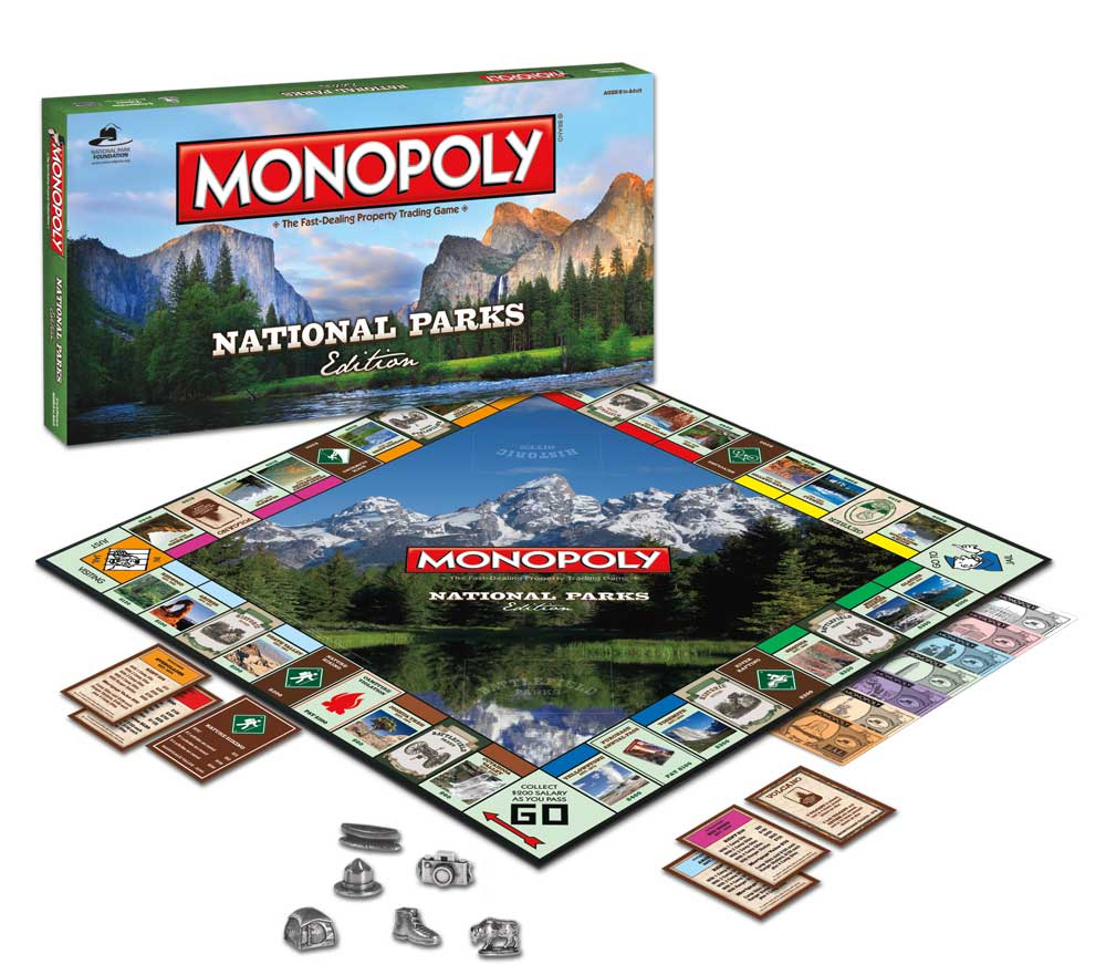 Monopoly National Parks Limited Edition Board Game