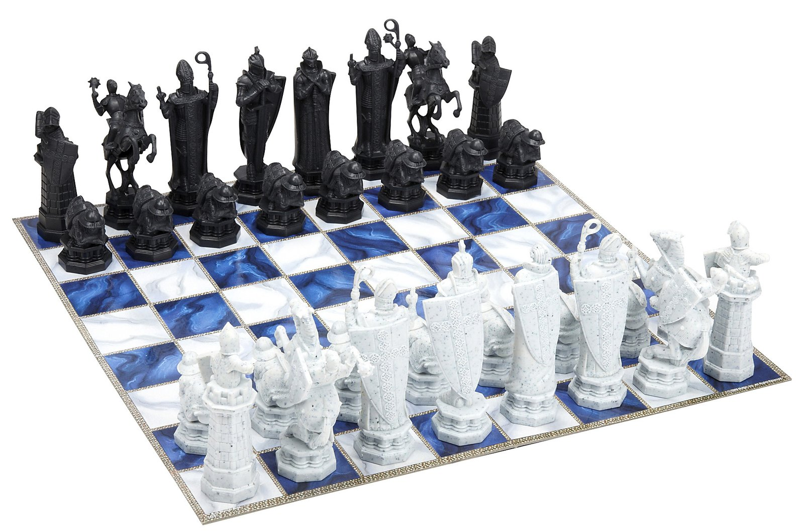 Harry Potter Sorcerer 39 S Stone Chess Set Board Games Messiah
