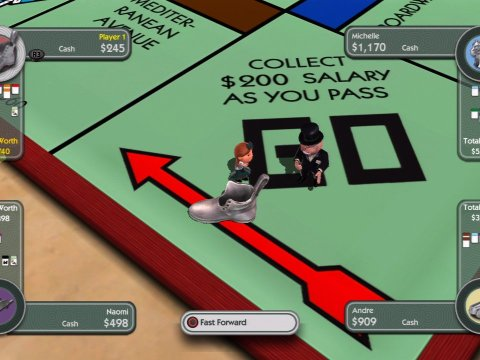 Monopoly Online – For Those Who Can't Get Enough Monopoly In Their Lives,