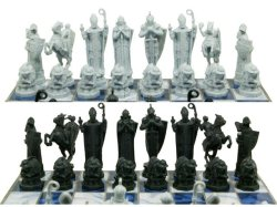 Harry Potter Sorcerer's Stone Chess Set - Boardgame