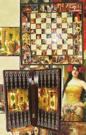 19 Turkish Quot Persian Design Quot Backgammon Amp Chess Board