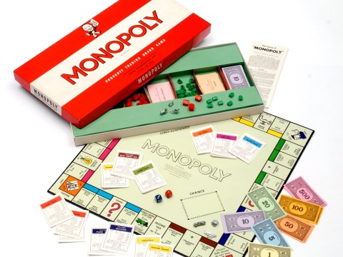 classic board games monopoly