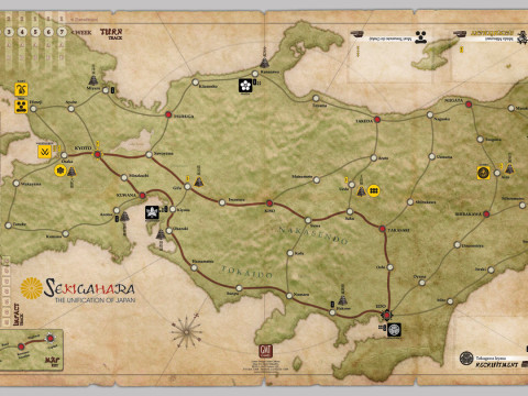 Sekigahara best looking board game