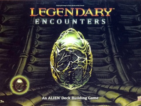 Legendary Encounters An Alien Deck Building Game - Upper Deck